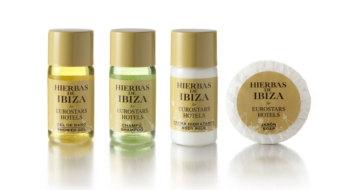 Eurostars Hotels confía a Hierbas de Ibiza su gama de amenities