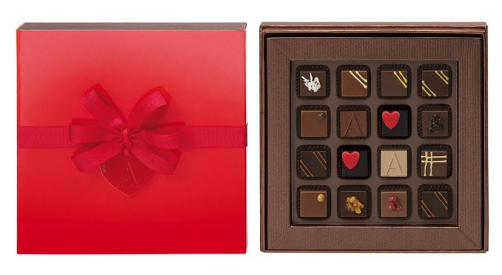 Armani/Dolci Gift Box 16 Pralines for Valentine's Day