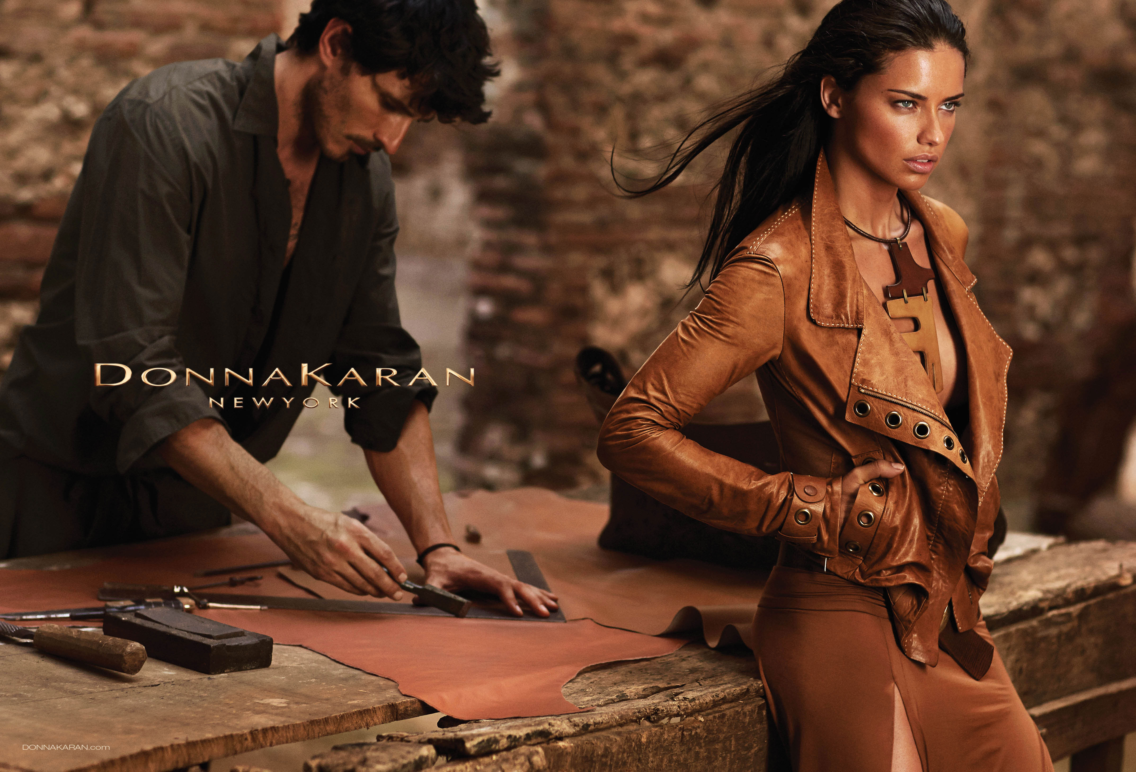 Adriana Lima y Andrés Velencoso, la nueva pareja de Donna Karan