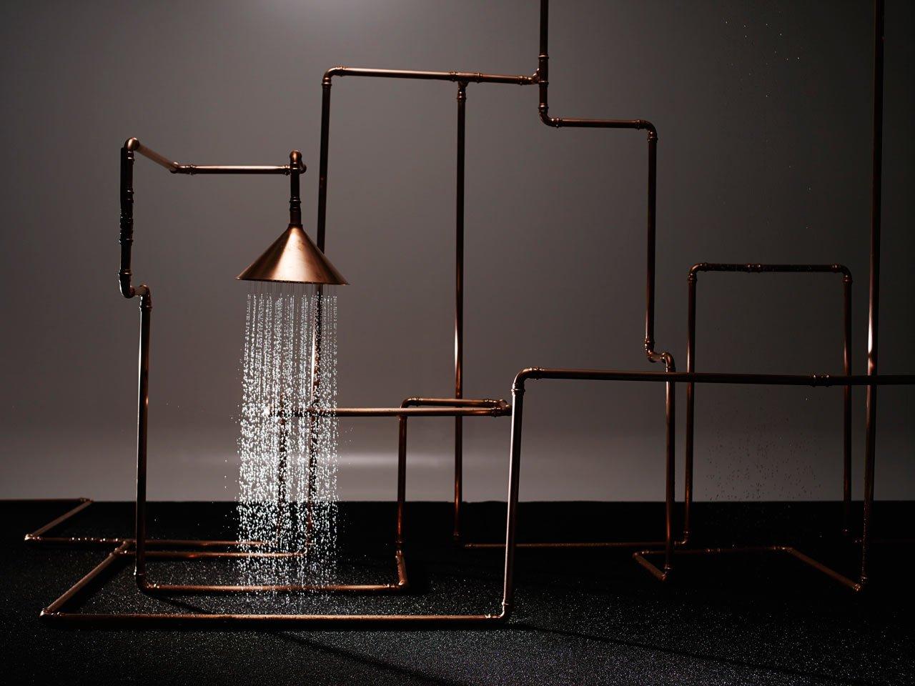 La magia y el lujo se unen en las nuevas duchas de diseño de Axor en colaboración con Front y Nendo