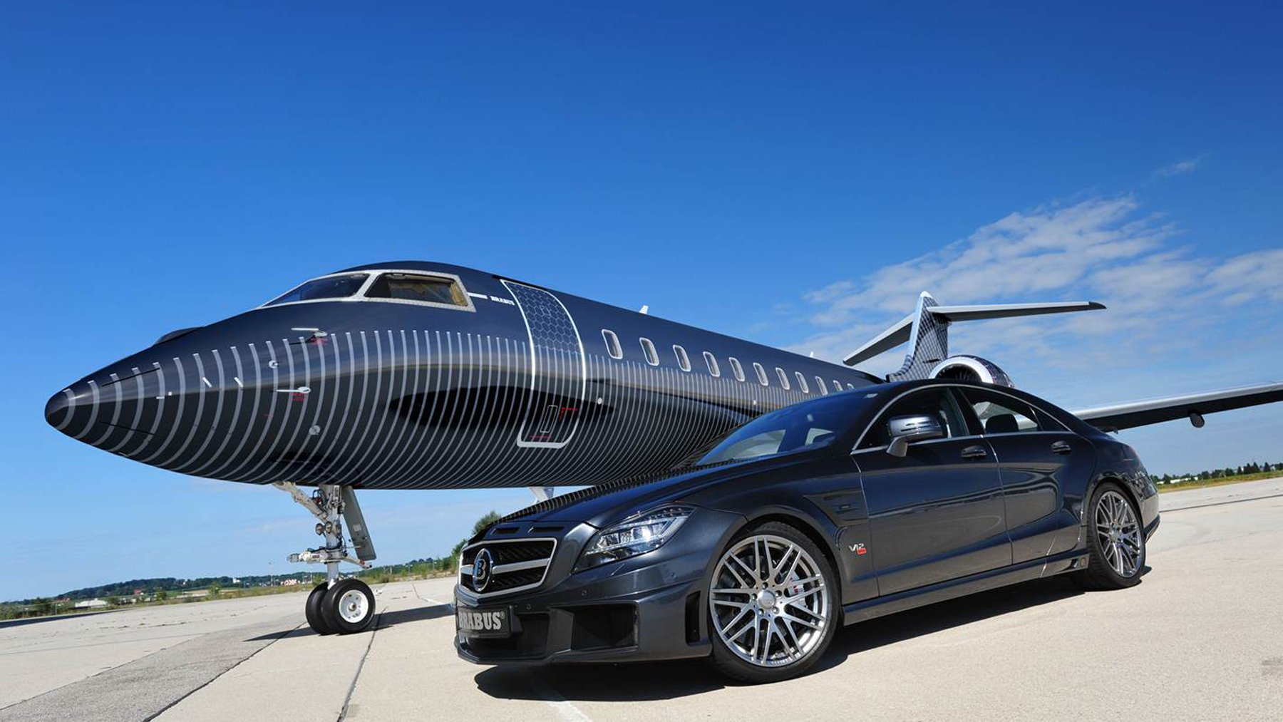 El lujo de volar con Brabus Private aviation