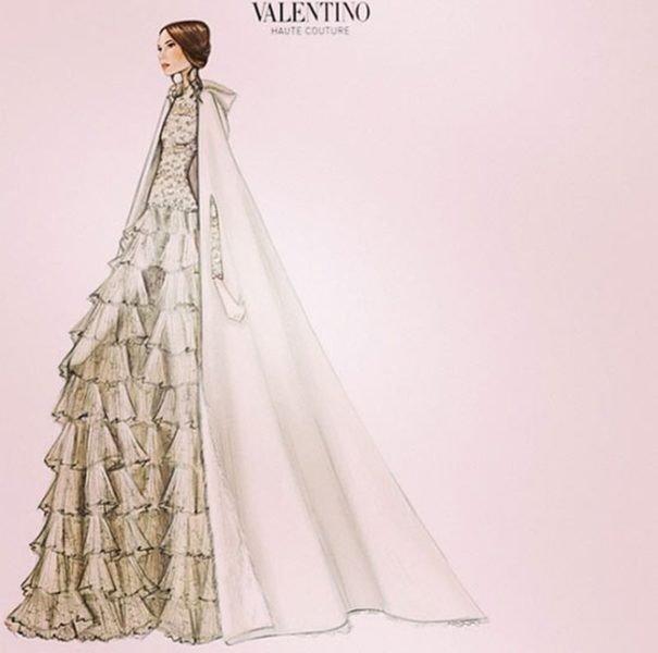 El vestido de Valentino de la boda de Tatiana Santo Domingo