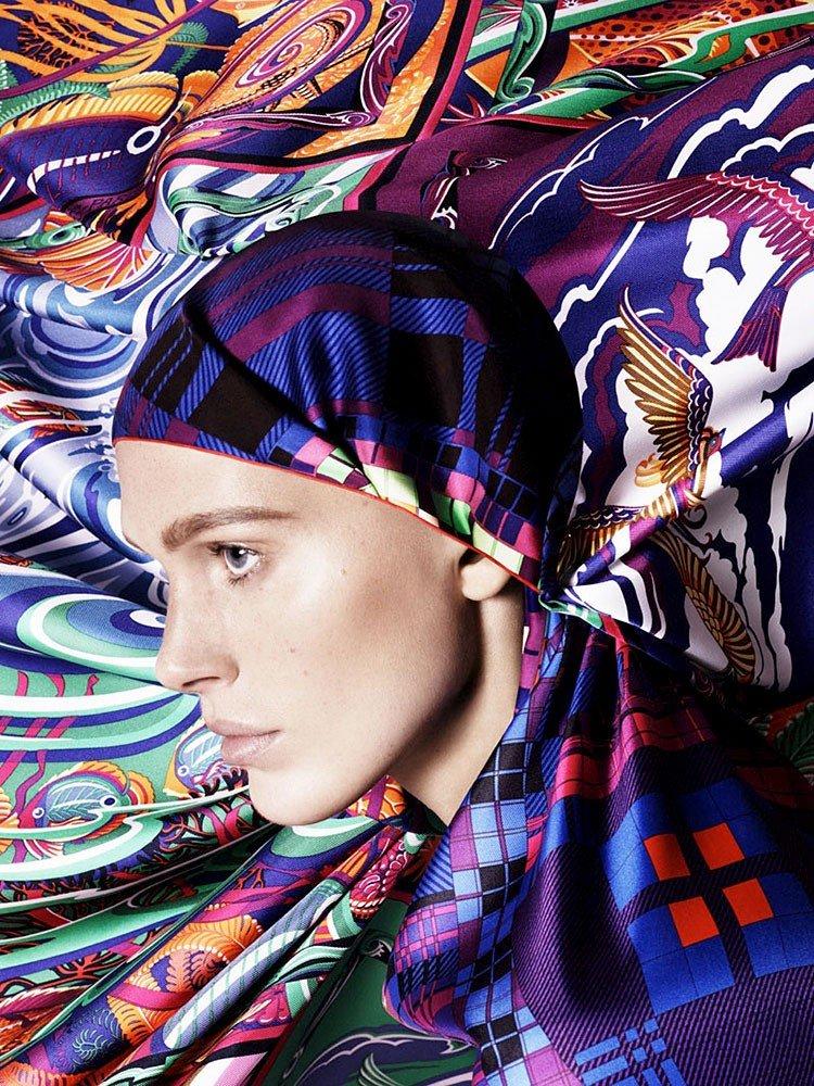 Iselin Steiro para la nueva primavera de Hermès