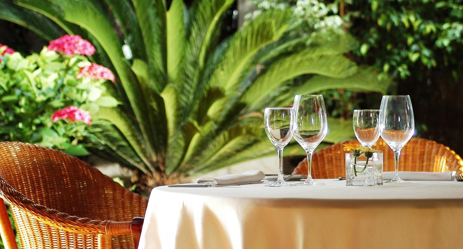 La cocina madrile a de el jard n de intercontinental the for Cafe el jardin madrid