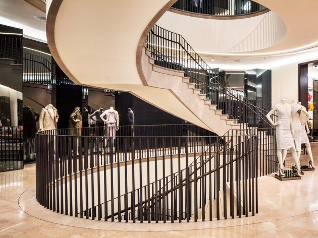 Burberry-Flagship-Store-Shanghai-staircase