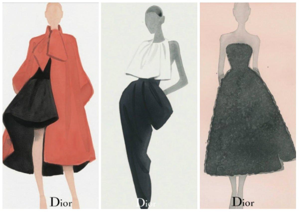 Mats Gustafson dibuja la nueva colección de Dior