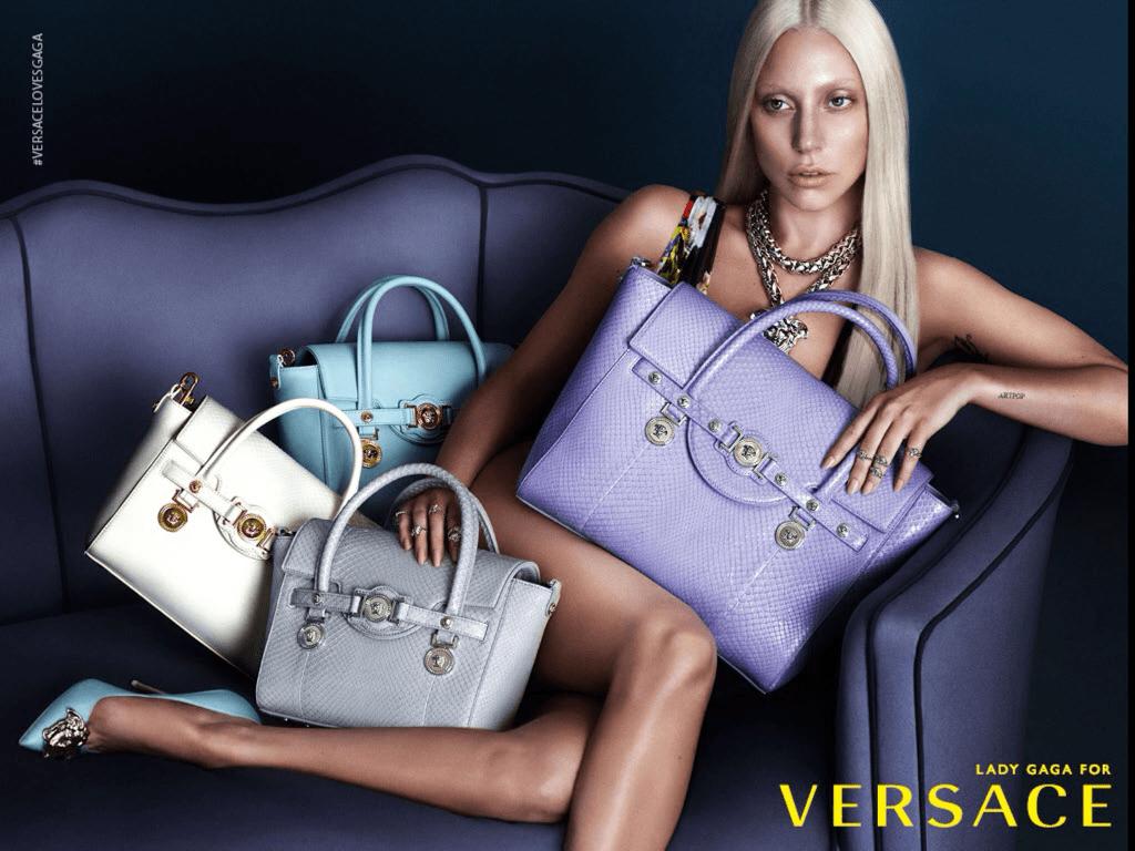 Lady Gaga y Versace, la nueva pareja de esta temporada
