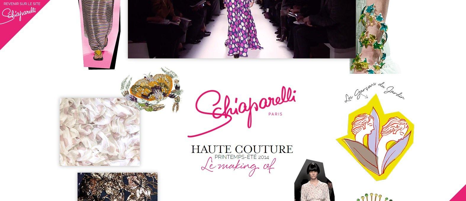 La nueva web de Schiaparelli, el universo del Haute Couture