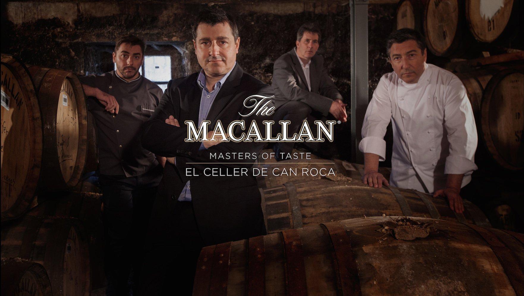 Disfrute de la experiencia gastronómica más sublime con The Macallan & Roca