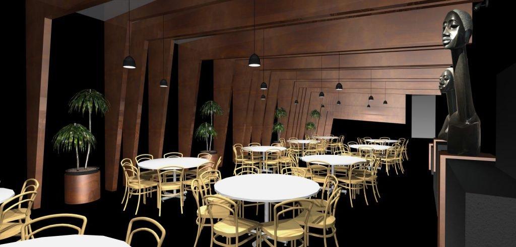Uno de los restaurantes protagonistas de este año diseñado por Simona Garufi