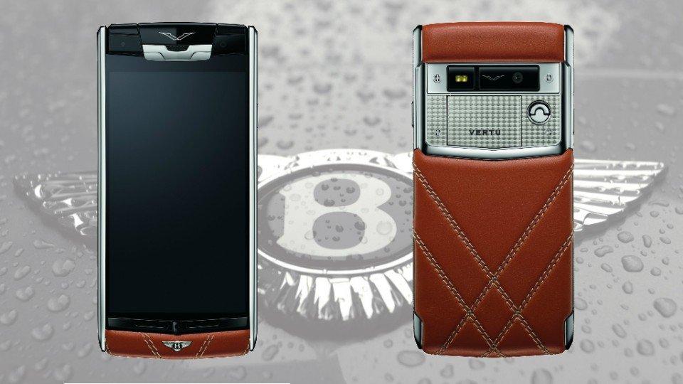 Vertu y Bentley lanzan su primer smartphone de lujo