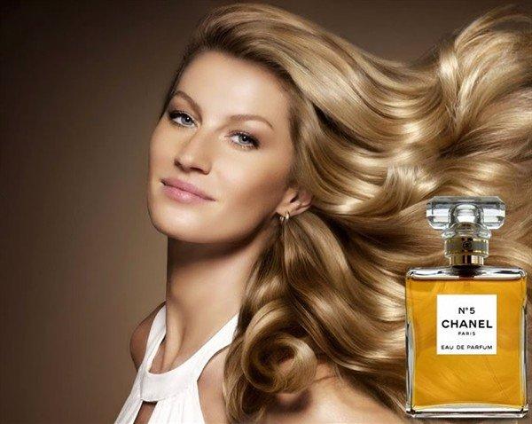 Gisele Bündchen, nueva imagen de Chanel No5