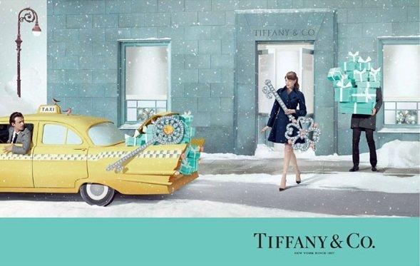 Tifanny & Co presenta su nueva campaña de navidad