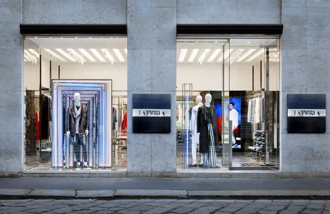 La primera tienda La Perla Uomo aterriza en Milán