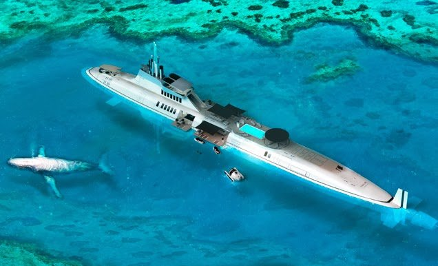 Migaloo, el nuevo submarino para ricos