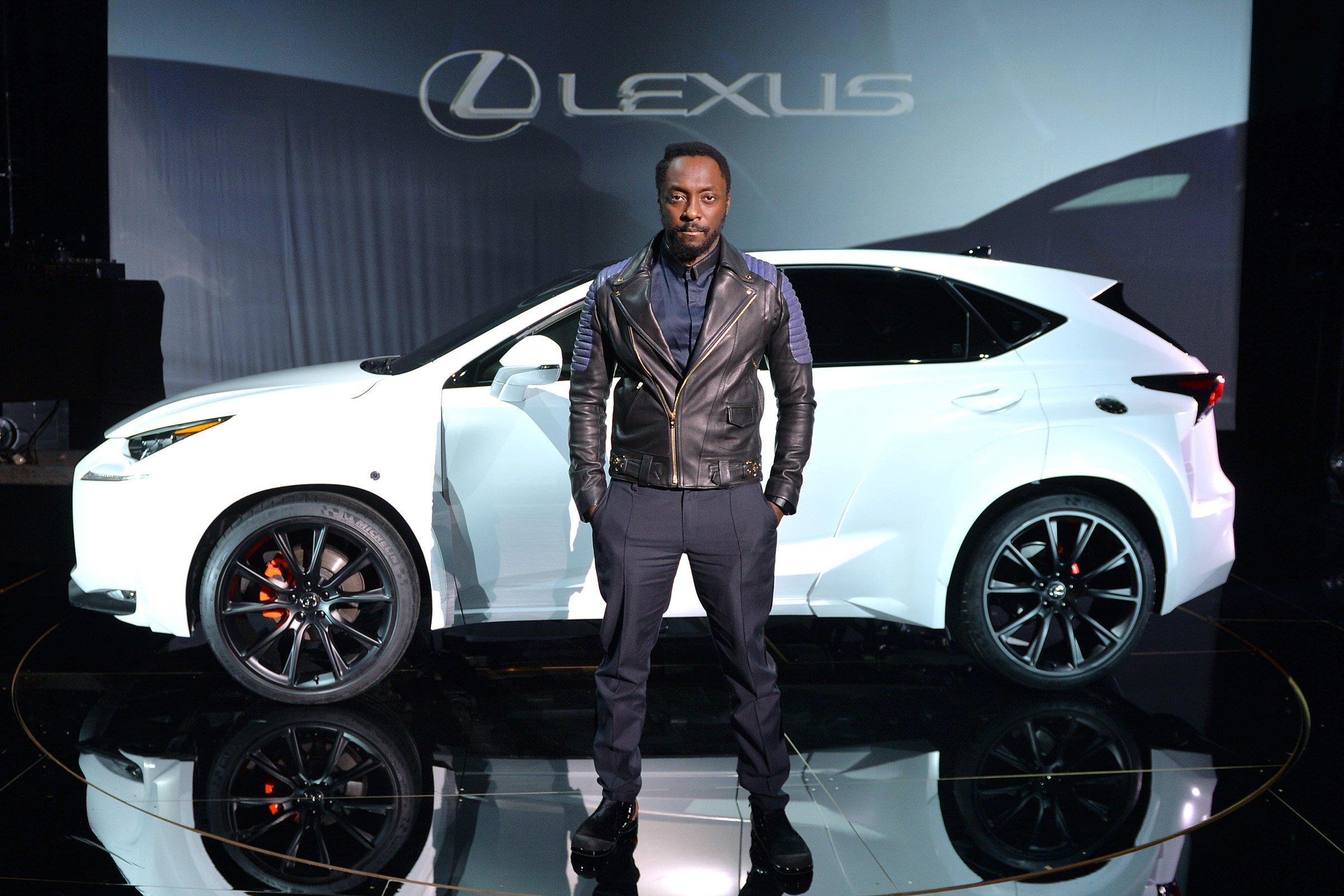 Will.I.Am, embajador de la campaña para el lanzamiento del nuevo Lexus NX 300h.