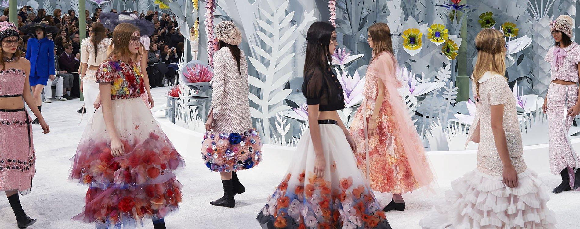 El desfile de Chanel Alta Costura Primavera-Verano 2015