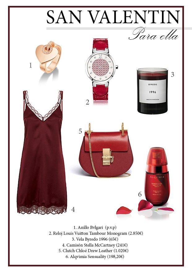 Regala lujo en San Valentín – para ella