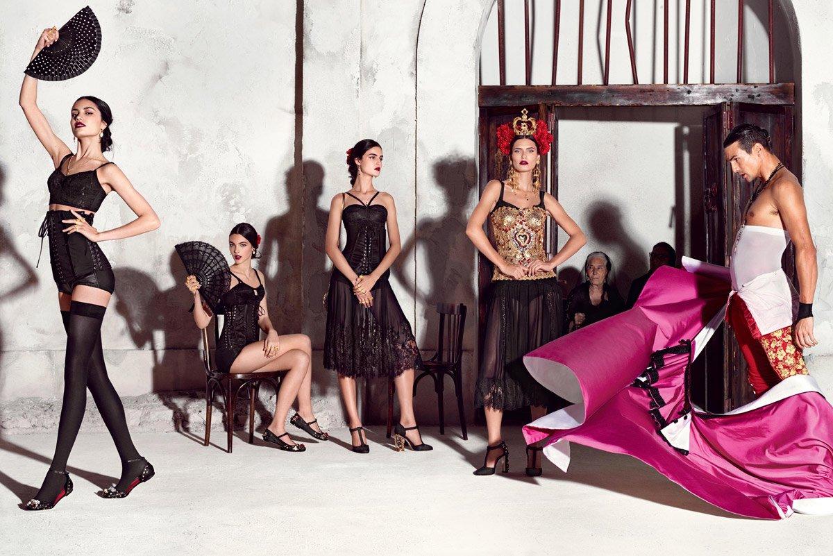 Dolce & Gabbana con aire español