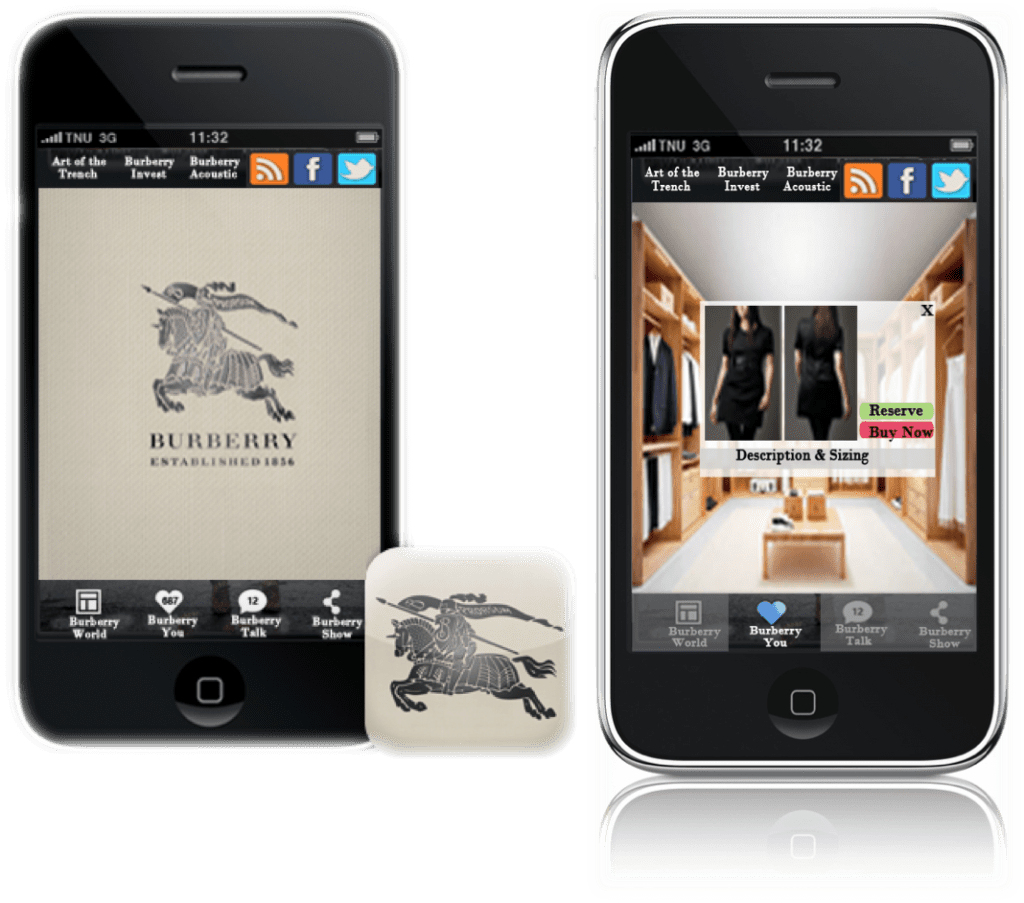 burberry luxury trends