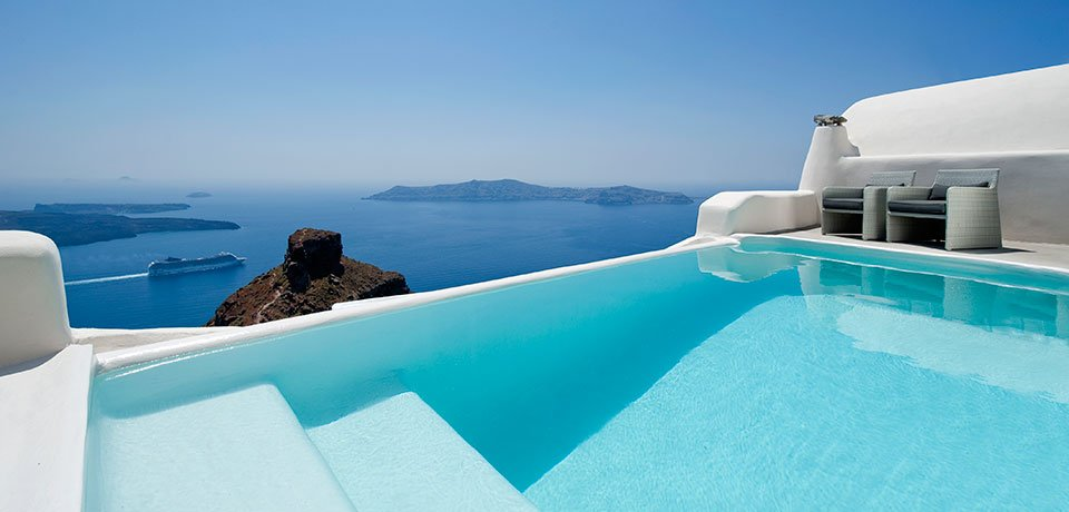 Hotel Kapari en Santorini The Luxury Trends
