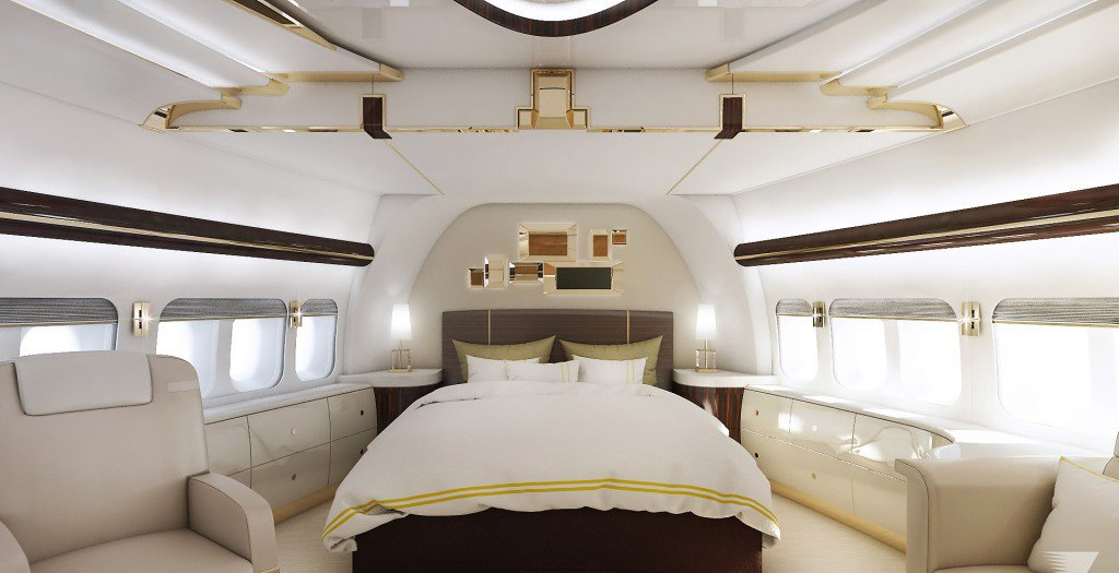 Stateroom Stateroom 747-8 VIP The Luxury Trends