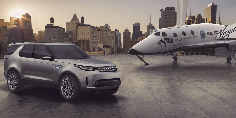 La nueva unión de Land Rover y Virgin Galactic