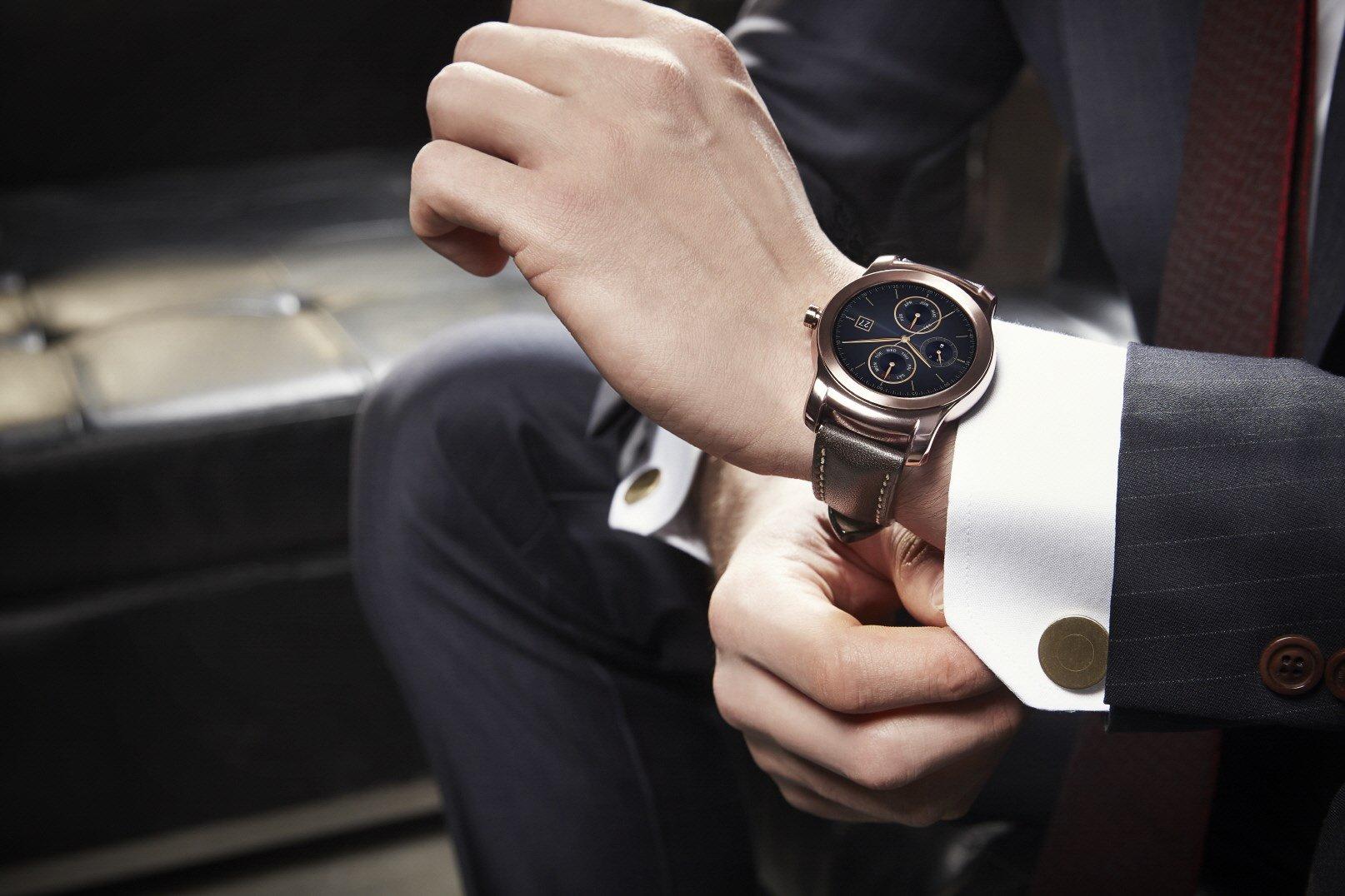 Smartwatches de lujo en el Mobile World Congress de Barcelona