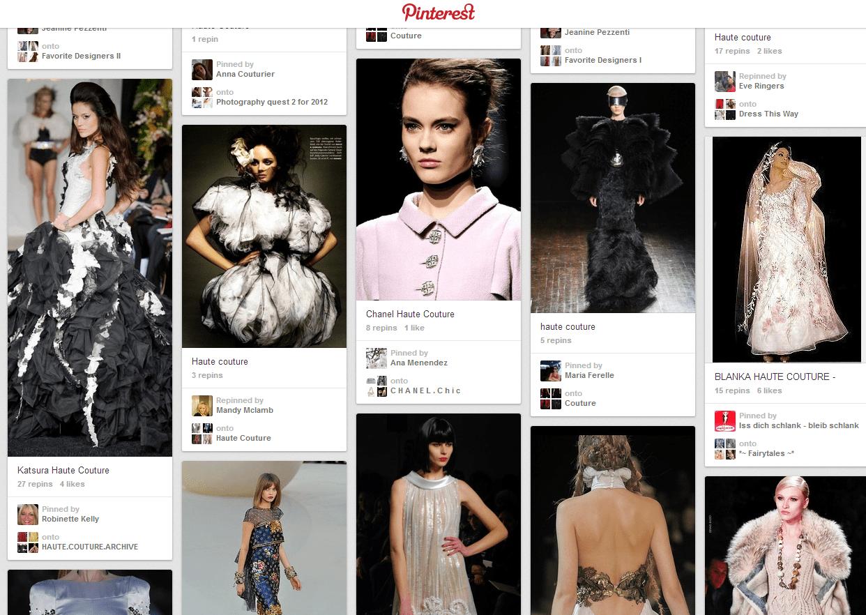 Claves para aumentar las ventas en un E-commerce de lujo, utilizando Pinterest
