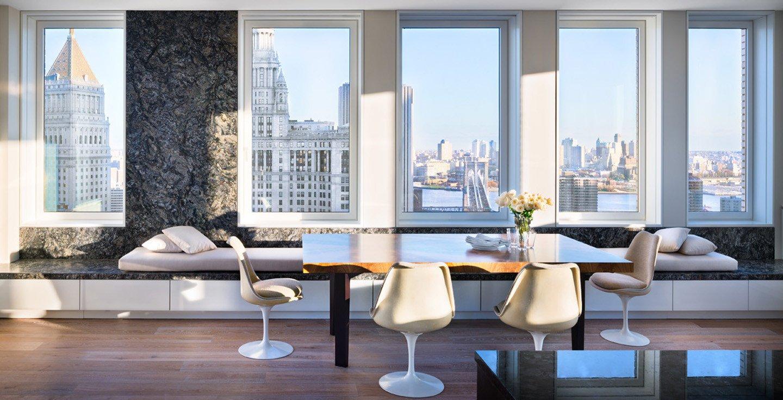 Tribeca Penthouse, funcionalidad con vistas a Nueva York
