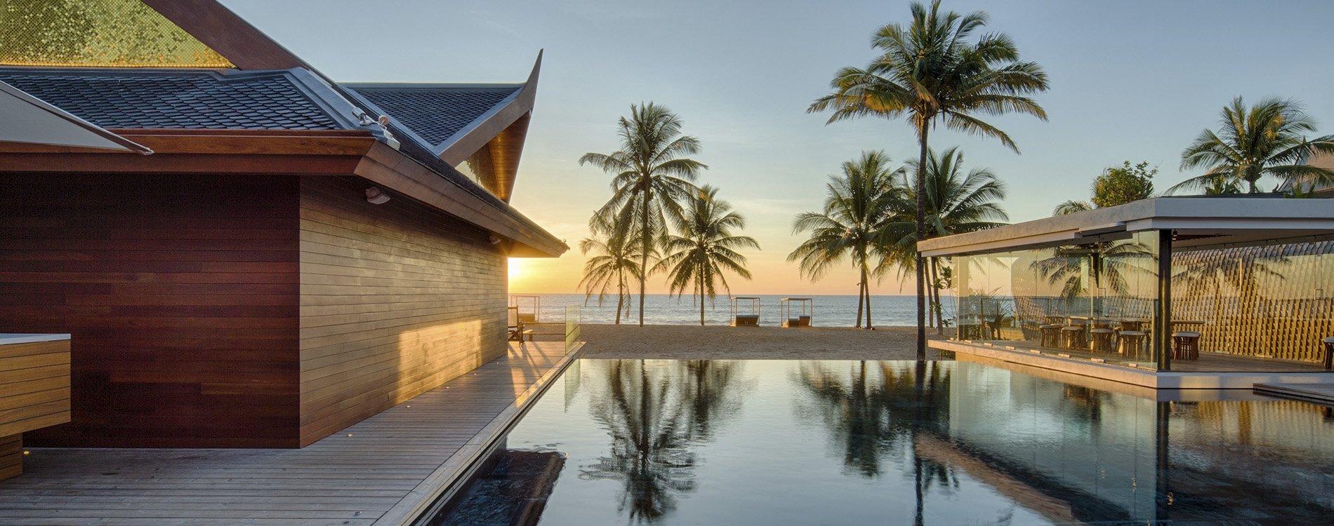 Iniala Beach House, diseño español en Tailandia