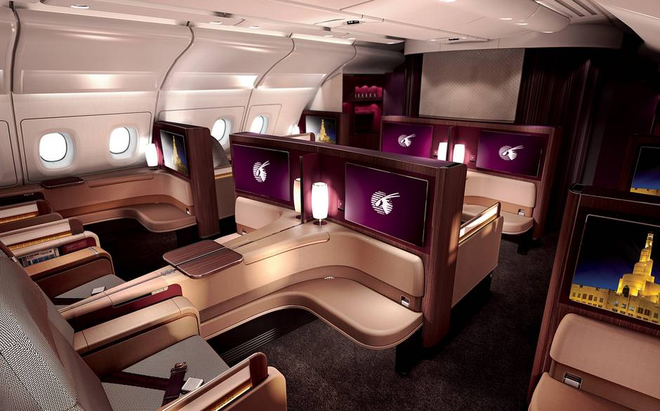 qatar airways first class The Luxury Trends