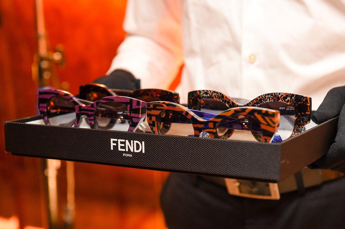 Thierry Larsy crea una colección de gafas de sol para Fendi