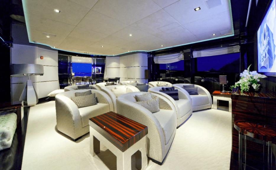 Mondomarine Magnifiq Yacht Cinema