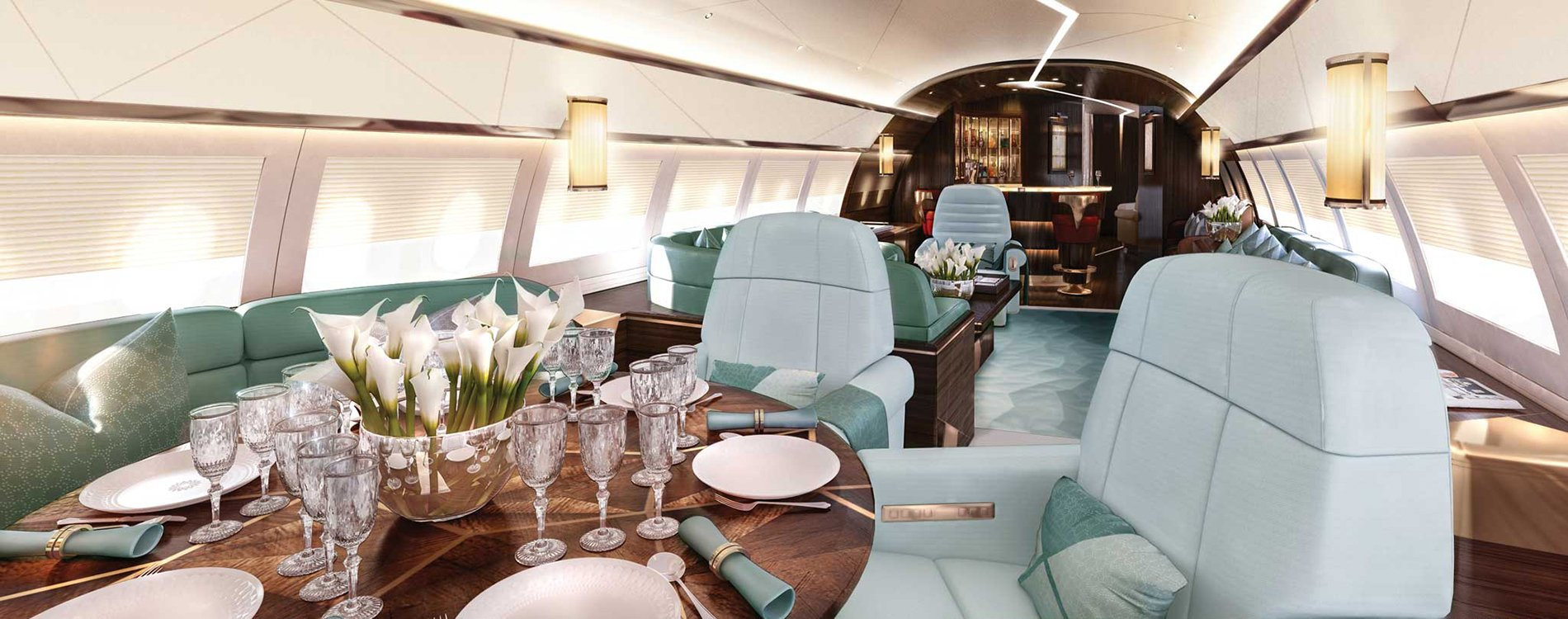Andrew Winch Designs personaliza jets privados