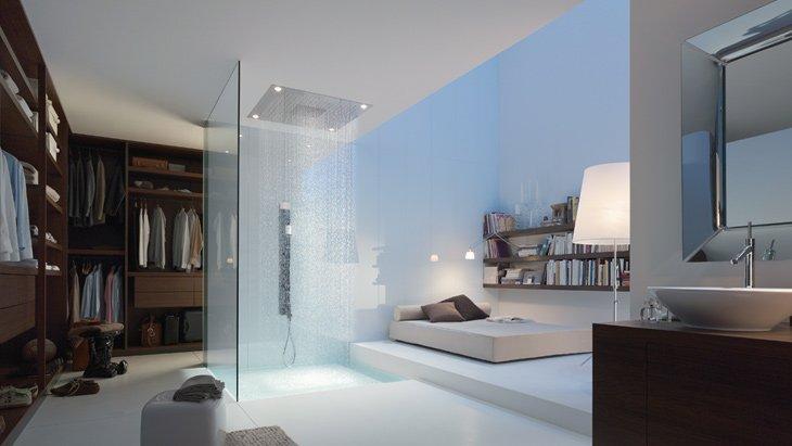 Un auténtico spa en el baño con Axor Starck de Hansgrohe