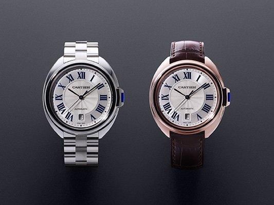 Cartier presenta su nuevo reloj Clé