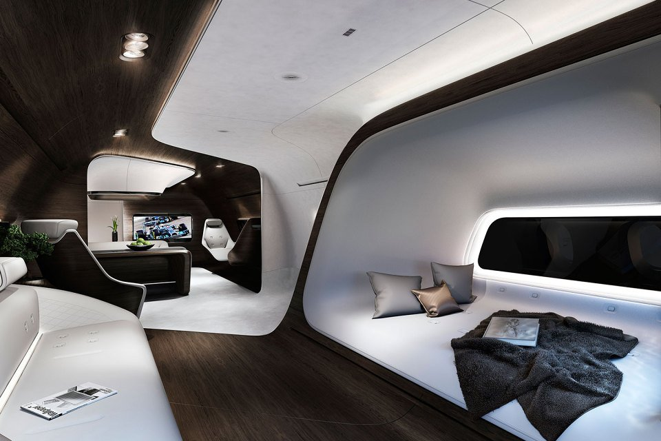 Aviones de Lujo Lufhtansa Y Mercedes The Luxury Trends