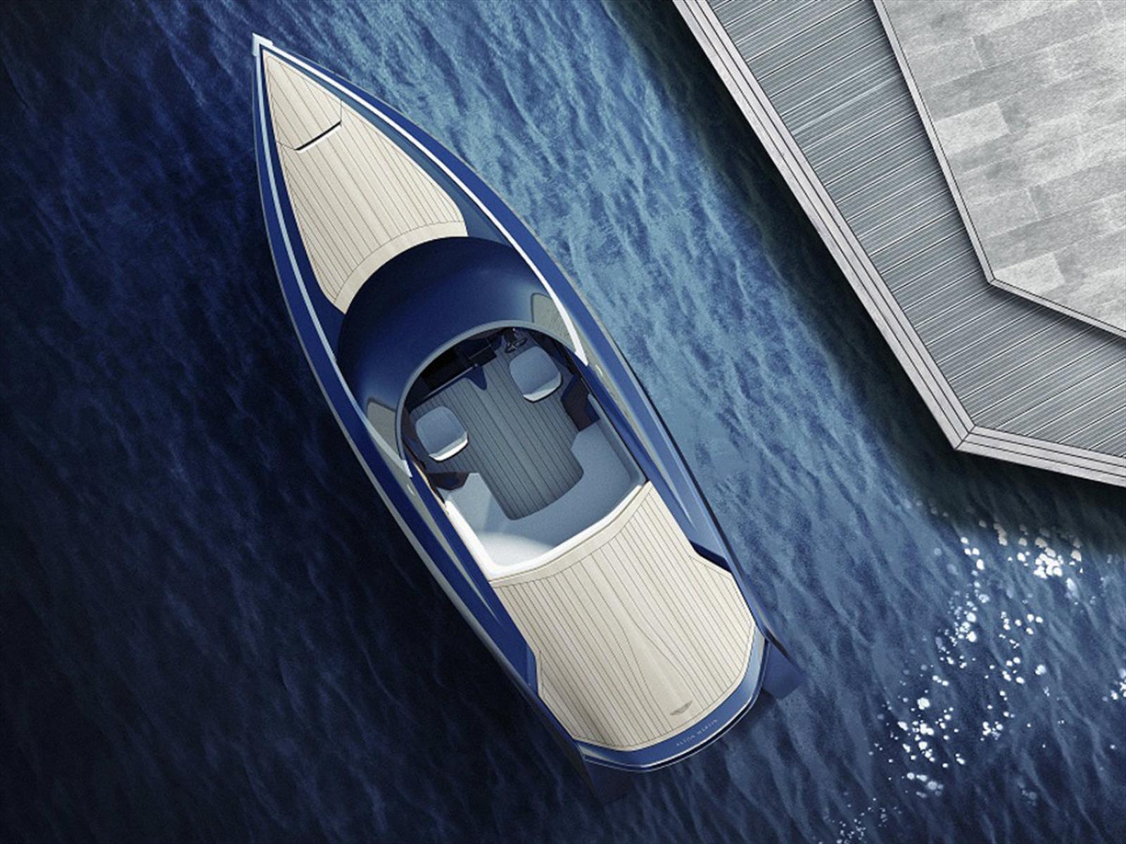 Aston Martin surcará los mares en una nueva lancha de lujo