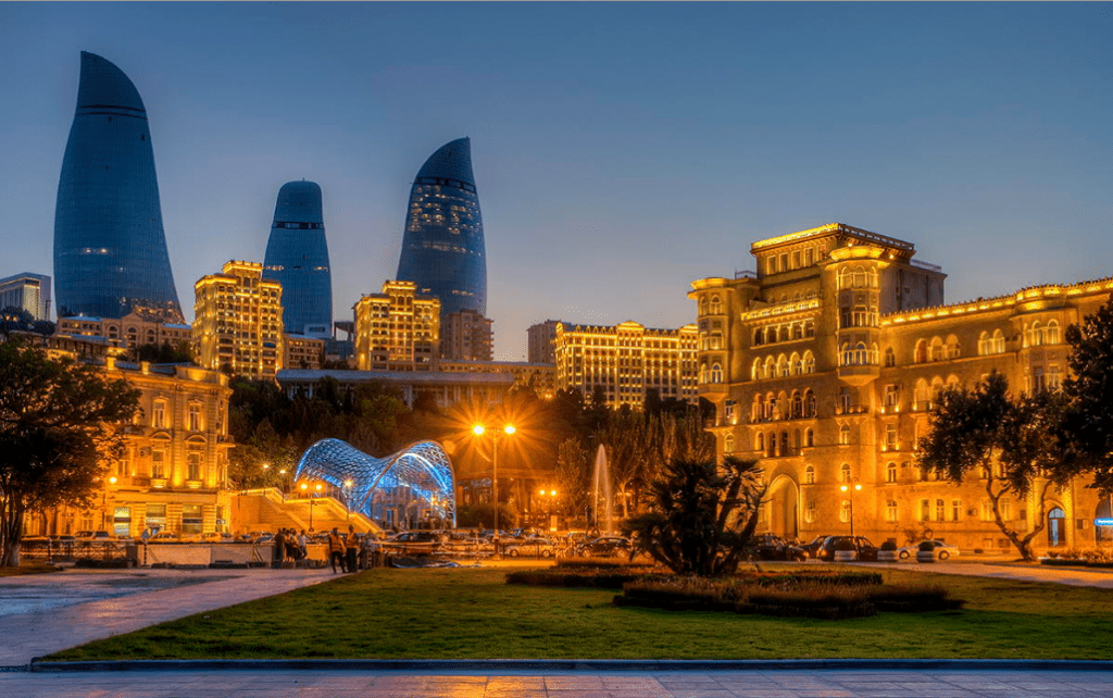 Baku downtown The Luxury Trends