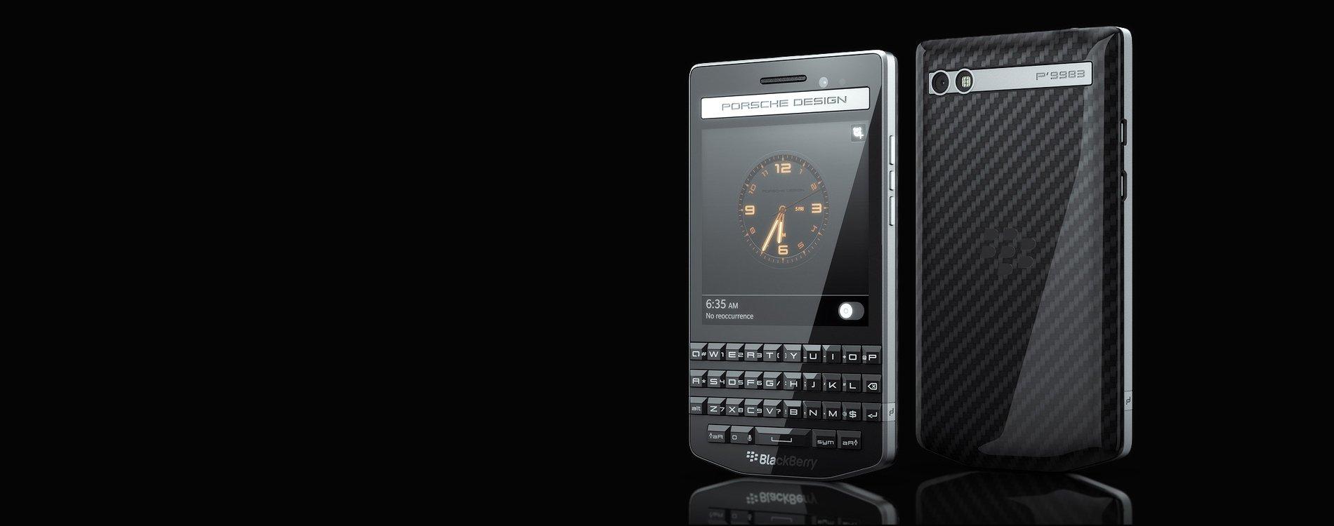 La nueva Blackberry de lujo