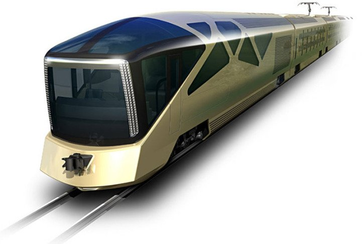 Japanese luxury train the luxury trends