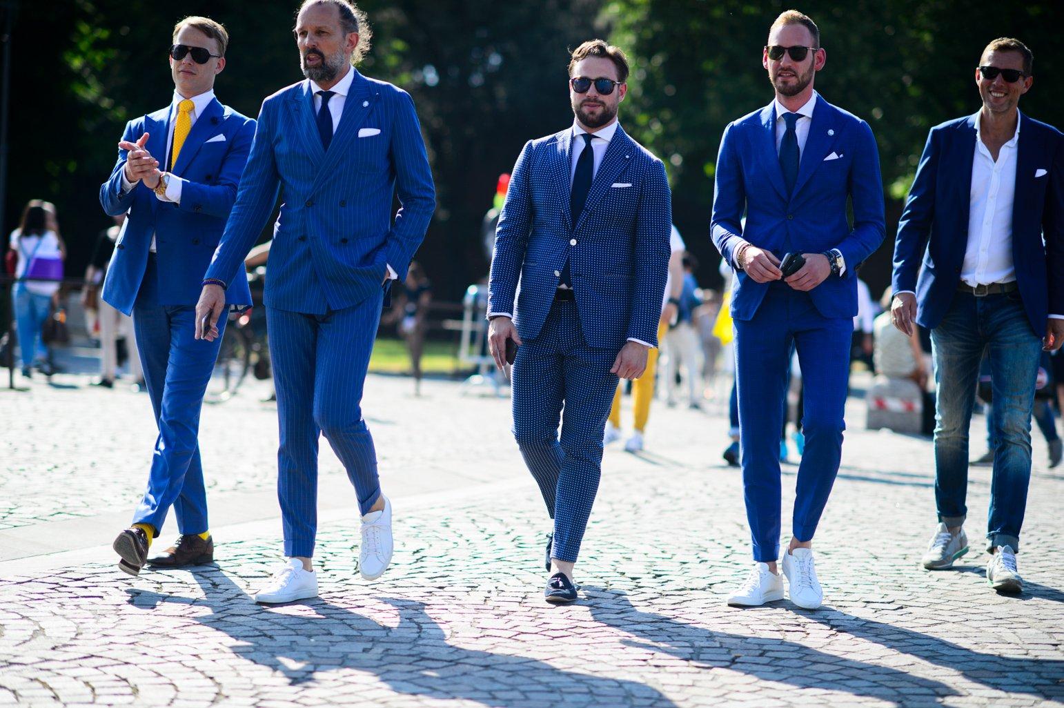 Los hombres, protagonistas del Pitti Uomo