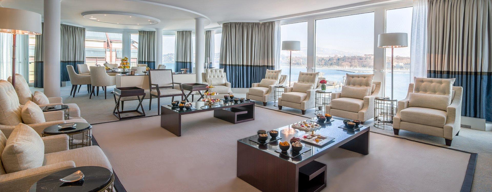 Suites de hotel dignas de palacios