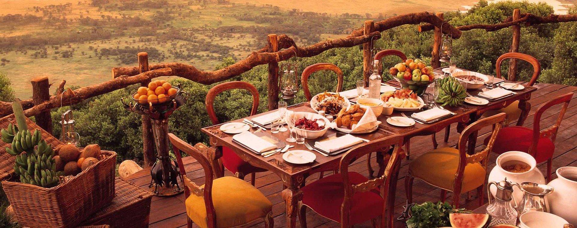 Cinco restaurantes con vistas de lujo