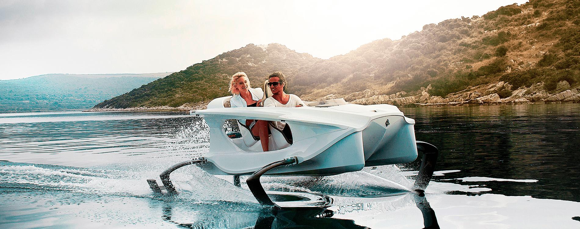 Quadrofoil, la moto acuática del futuro