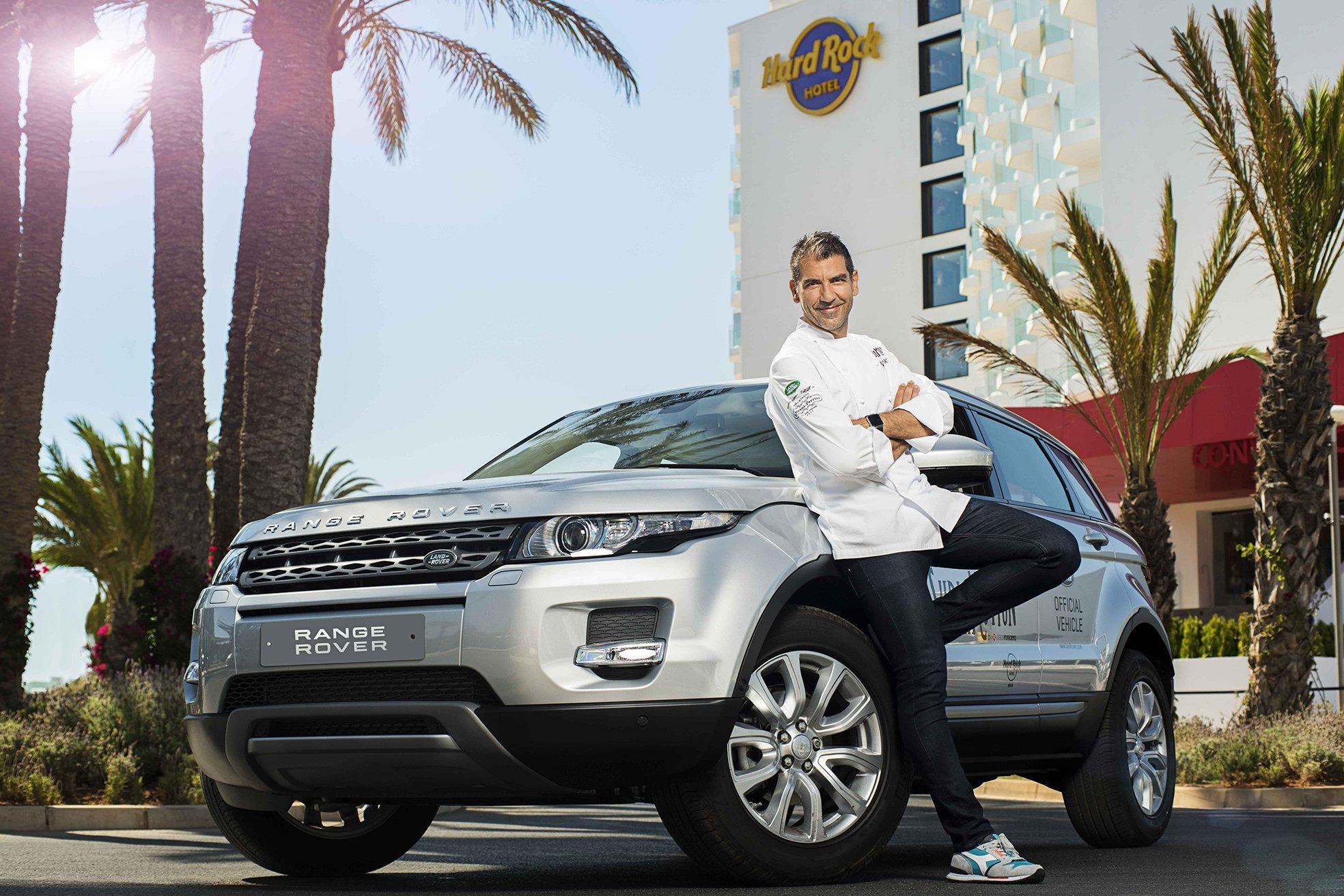 Land Rover vuelve a Ibiza con 'Sublimotion' el espectáculo gastronómico y futurista de Paco Roncero