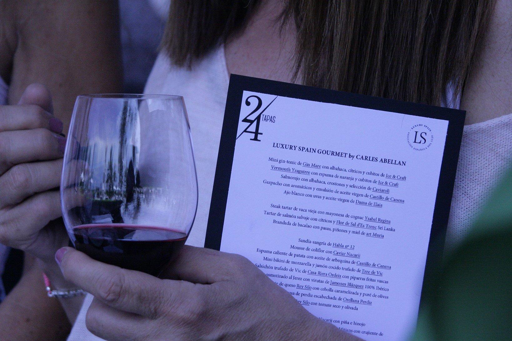 """Presentación """"Luxury Spain Gourmet"""" junto al Chef Carles Abellan"""