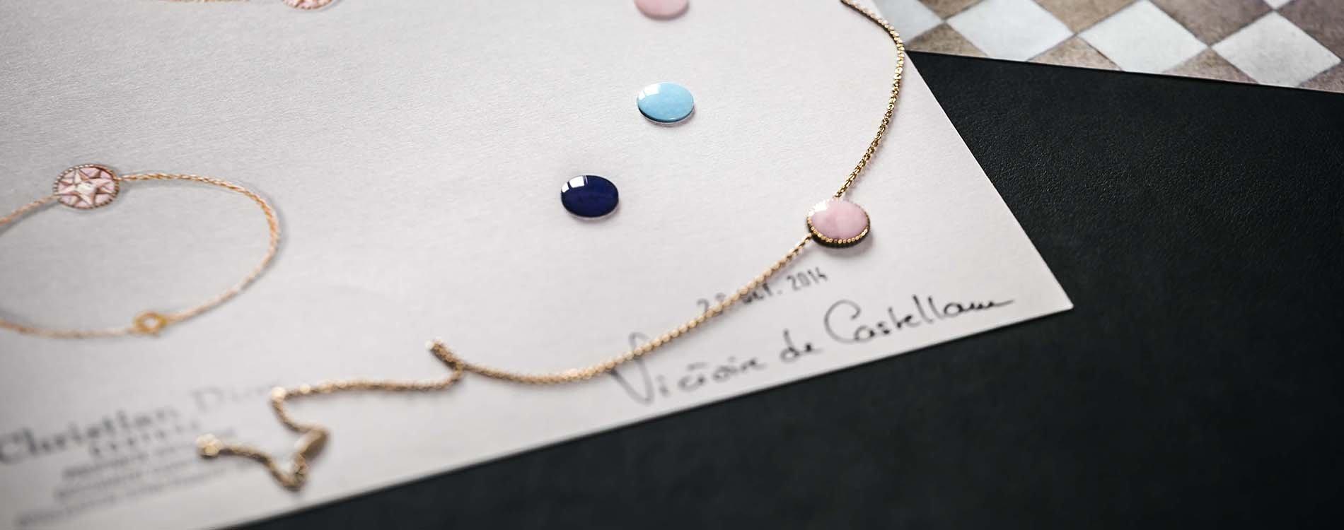 La rosa de los vientos en la joyería de Dior