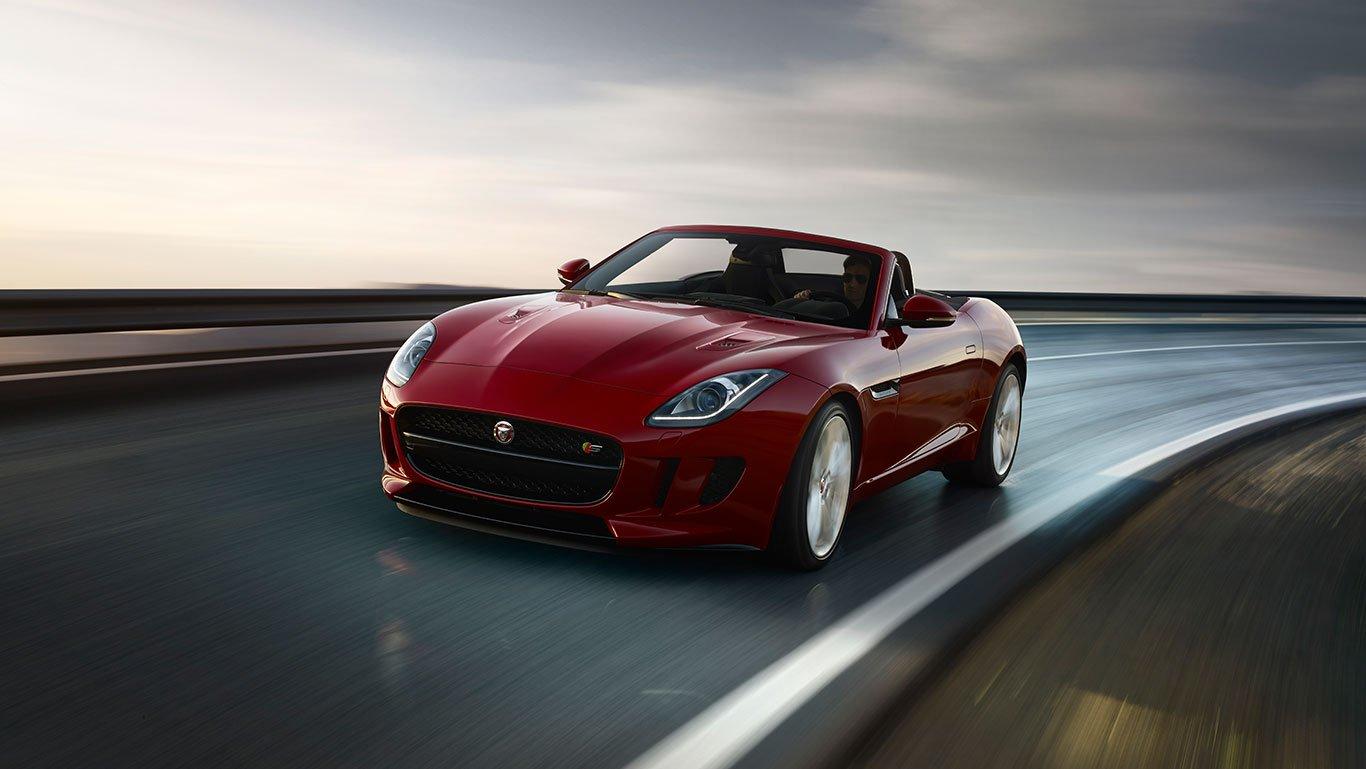 El nuevo descapotable biplaza de Jaguar